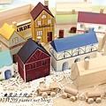 鄉村小屋彩繪