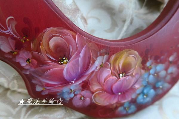 玫瑰彩繪-花鏡