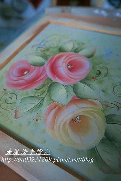 彩繪課程-玫瑰研習課程
