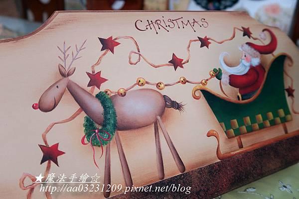 聖誕彩繪作品