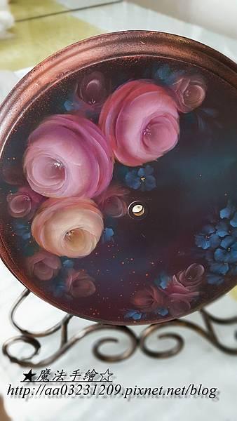 彩繪教學-花卉彩繪