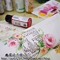 布品彩繪-玫瑰彩繪教學
