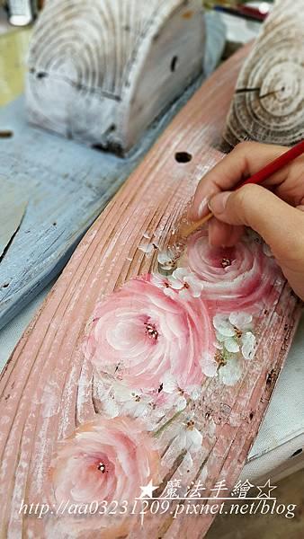 花卉彩繪教學