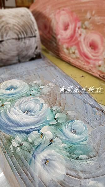 玫瑰-彩繪教學