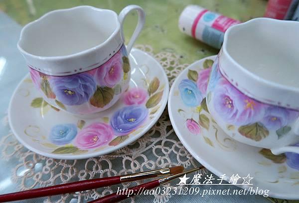咖啡杯彩繪