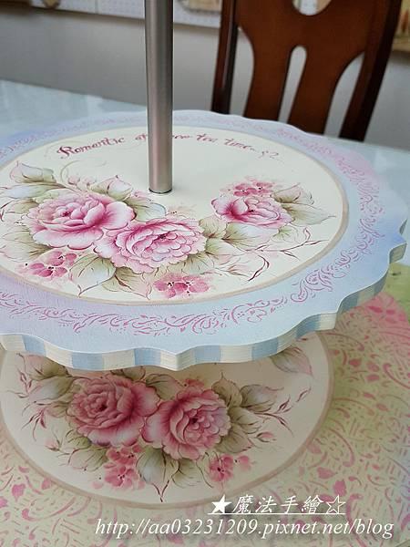 雙層蛋糕盤