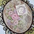 彩繪教學-玫瑰鍛鐵飾板