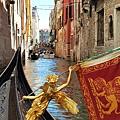 威尼斯-鳳尾船(貢多拉)