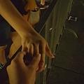 在梵蒂岡前廣場  我們一整晚 玩起了「一邊一國」~