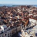 塔樓上的威尼斯-其實四面八方都美極了~