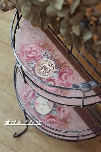 彩繪玫瑰-課程教學-雜貨Zakka