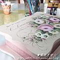 寶盒彩繪-彩繪玫瑰Rose