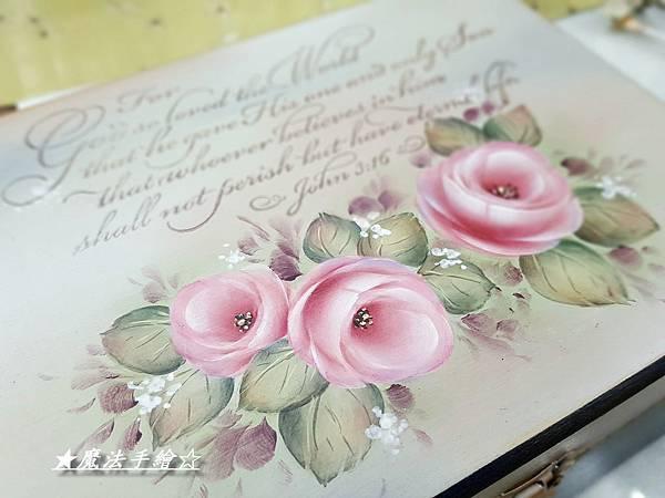 彩繪教學-典雅珠寶盒