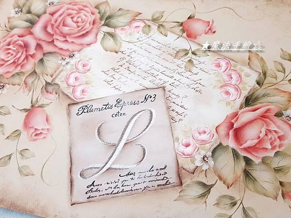 玫瑰彩繪-彩繪教學
