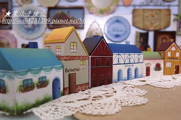 彩繪教學-鄉村風房屋系列
