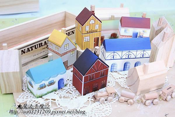 田園彩繪小屋