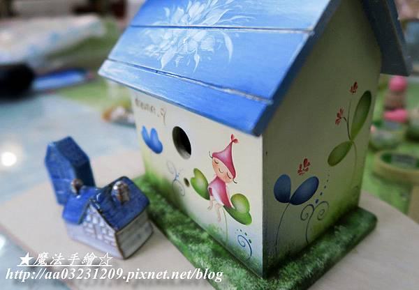 魔法手繪-彩繪房屋