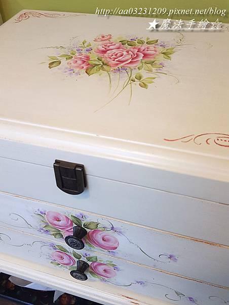 傢飾品彩繪接單-珠寶箱彩繪