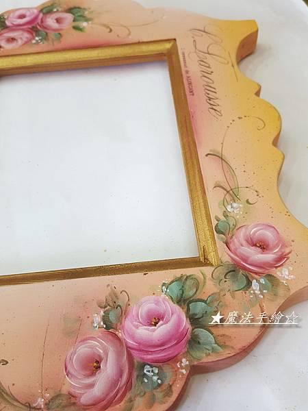 魔法手繪坊-玫瑰鏡款