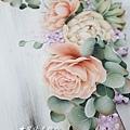 彩繪婚禮板-Wedding reception