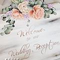 Wedding Reception-玫瑰婚板教學