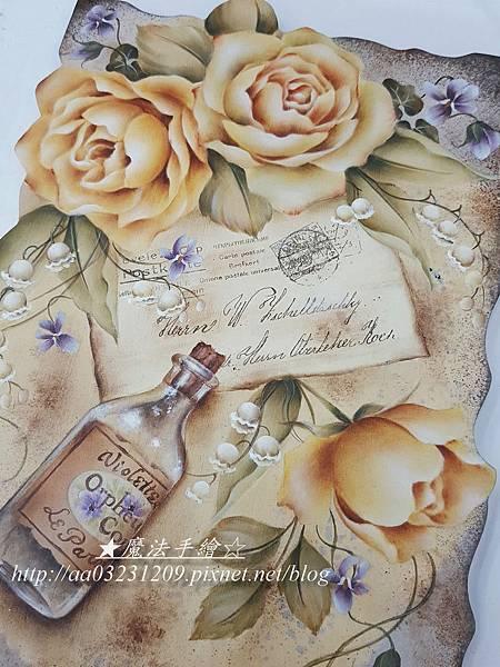 彩繪玫瑰-魔法精緻手繪坊