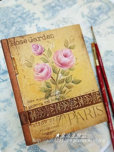 玫瑰彩繪-傢飾彩繪