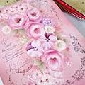 彩繪玫瑰板-魔法手繪