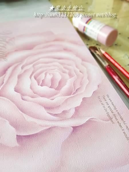 玫瑰彩繪-魔法彩繪