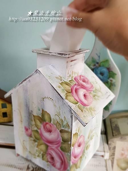 面紙盒彩繪-魔法手繪