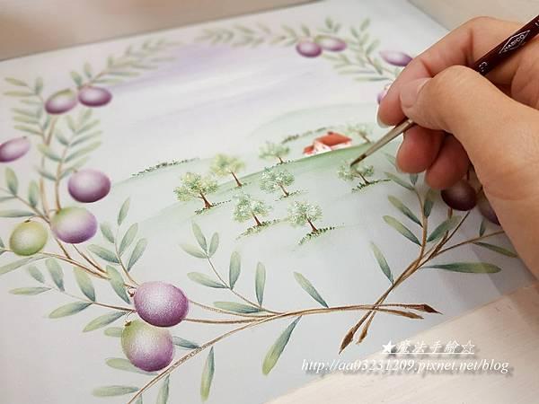 彩繪教學-飾傢彩繪