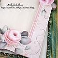 家飾彩繪教學-玫瑰鏡