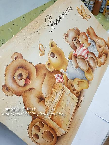 小熊彩繪-魔法精緻手繪坊