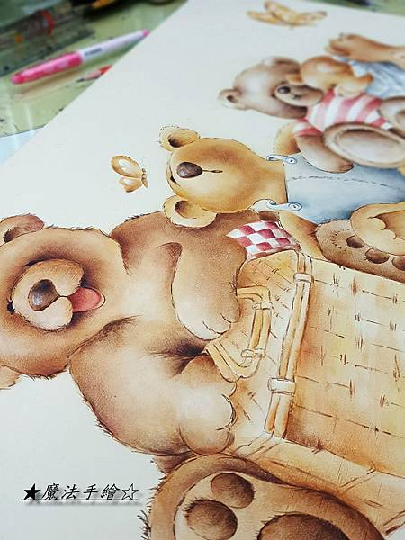 彩繪教學-魔法手繪坊