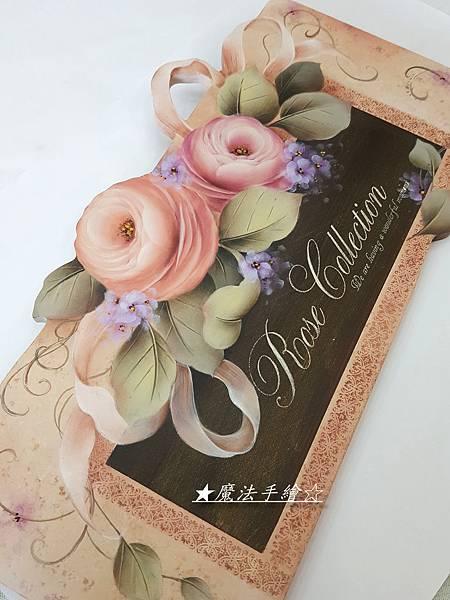玫瑰系列-家飾彩繪-
