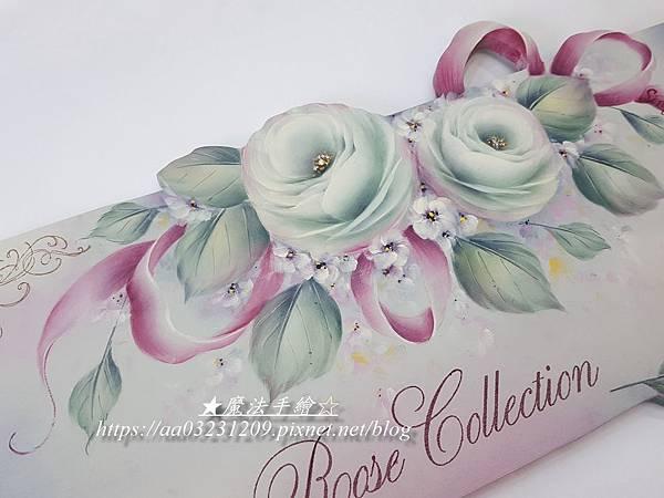 玫瑰飾板-彩繪教學-雲林斗六