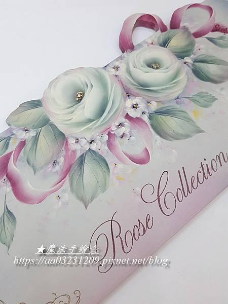 玫瑰彩繪研習課程-台北班