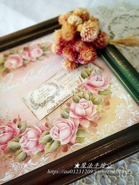 魔法精緻手繪坊-玫瑰彩繪教學