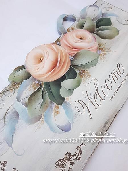 彩繪玫瑰-魔法手繪