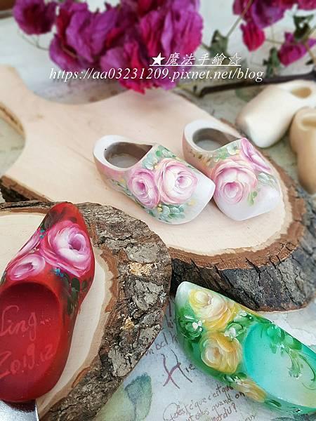 木鞋彩繪-魔法精緻手繪坊