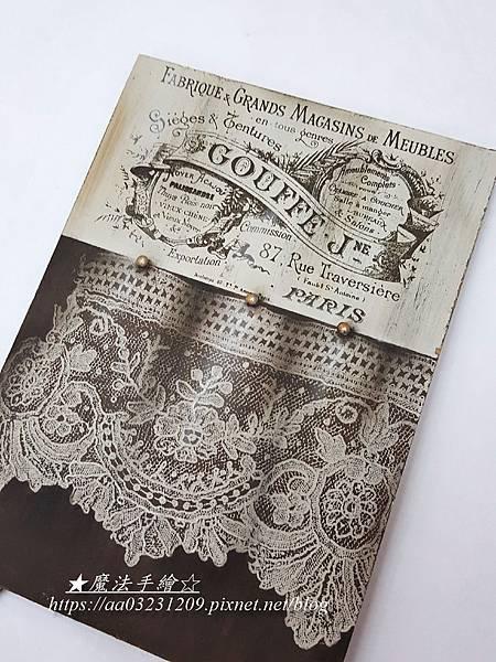 名家絹印-彩繪應用-魔法手繪