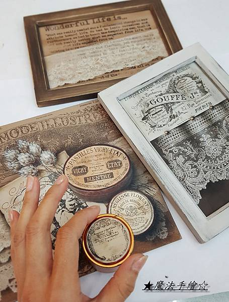 魔法精緻手繪坊-藥罐鐵盒-靜物彩繪