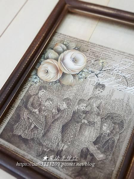 日式絹印彩繪應用-魔法手繪坊
