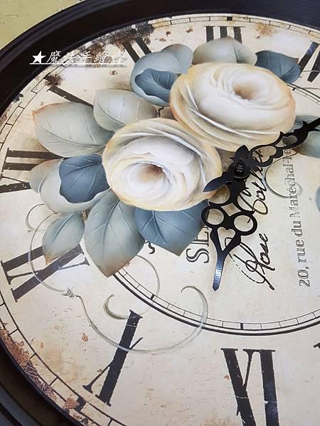魔法精緻手繪坊-大時鐘彩繪