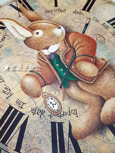 魔法手繪-鐘板彩繪%2F大鐘彩繪教學