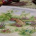 輕彩壓克力-彩繪教學