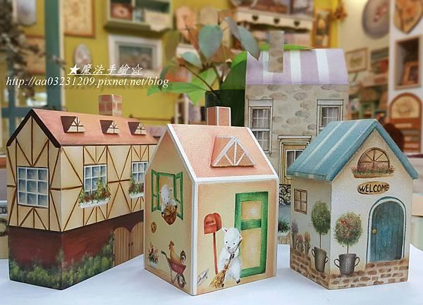 小屋彩繪-魔法手繪