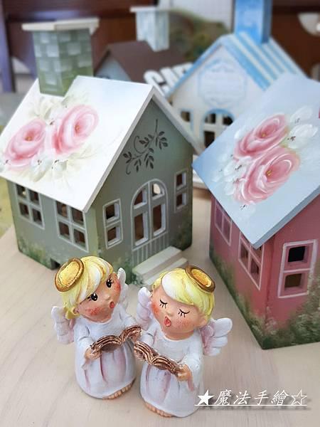 玫瑰彩繪小屋-教學推廣