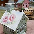 鄉村小屋-房屋彩繪教學