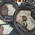 絹印彩繪證書-研習作品-魔法手繪